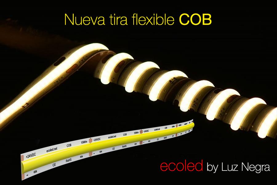 Nuevas tiras flexibles ecoled COB