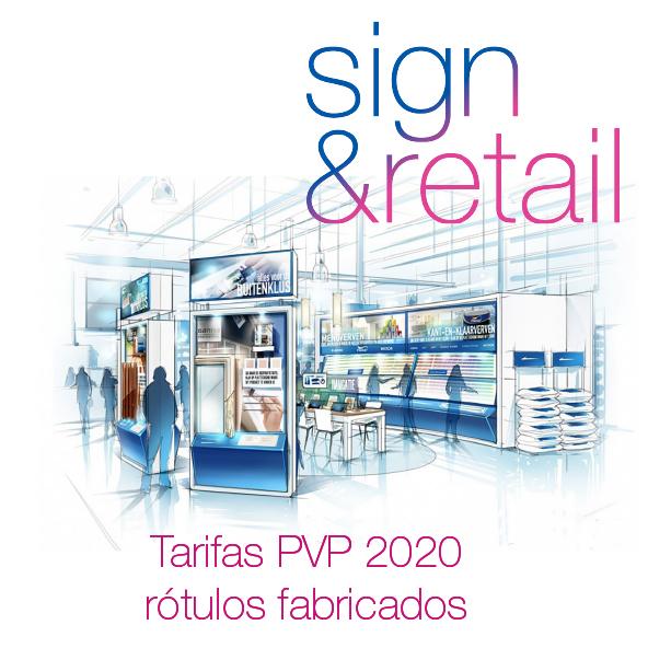 Tarifa PVP Sign&Retail
