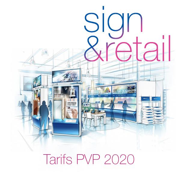 Tarifs PVP Sign&Retail
